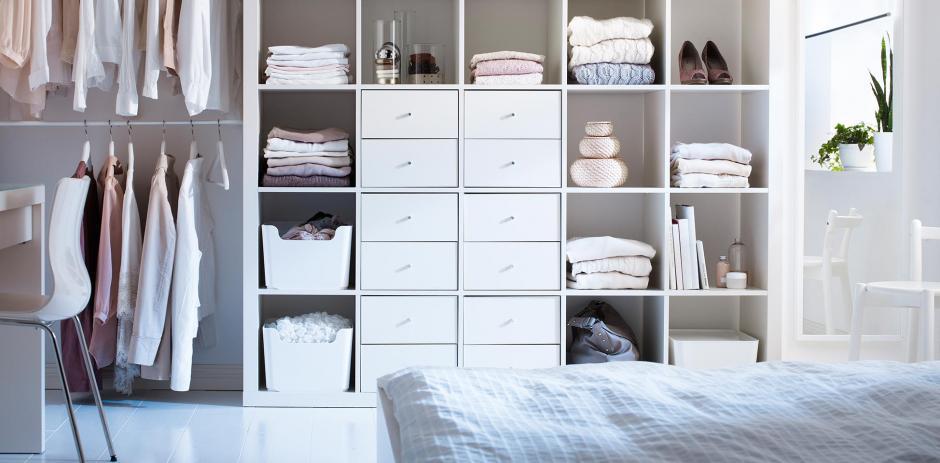Con un armario limpio y ordenado te inspirarás a iniciar el año con pie derecho. (Foto: Pinterest)