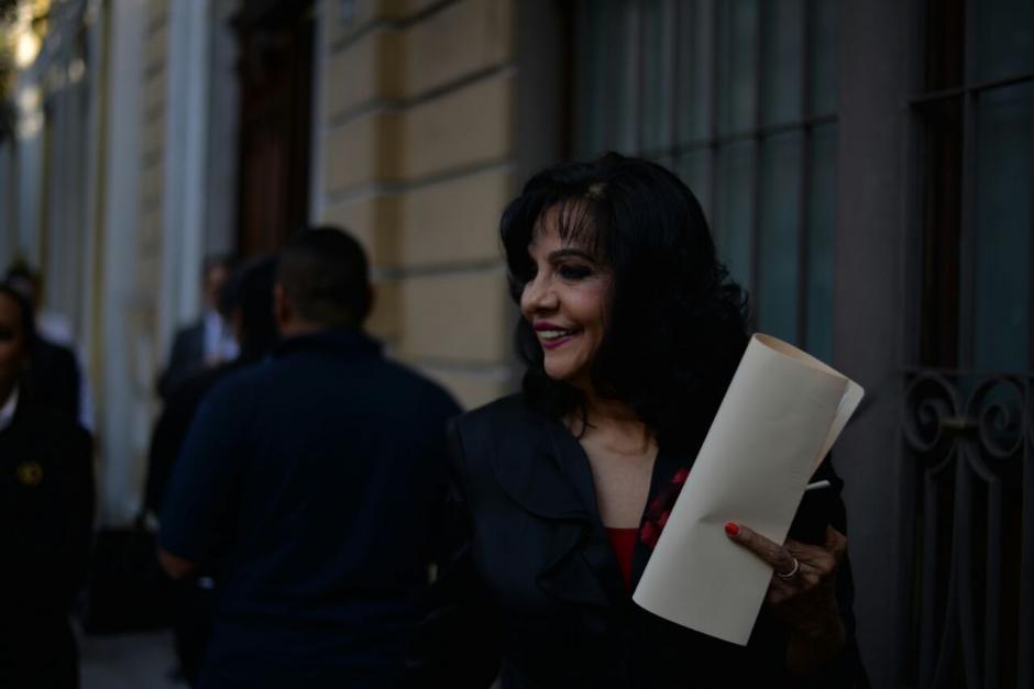 Elvia Álvarez estuvo inhabilitada como notaria ante el OJ. (Foto: Wilder López/Soy502)