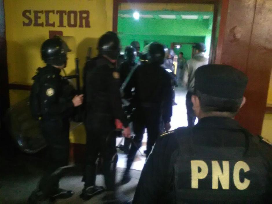 En Pavoncito guarda prisión el colaborador eficaz Salvador Estuardo González. (Foto: PNC)