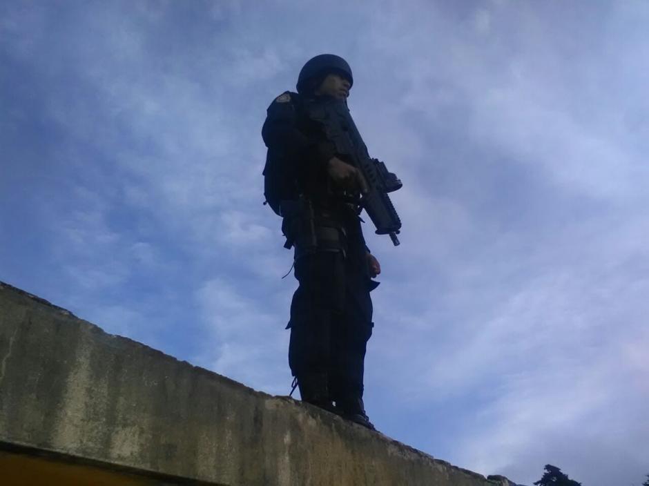Las autoridades también realizaron recientemente una requisa en la Granja Penal de  Pavón. (Foto: PNC)