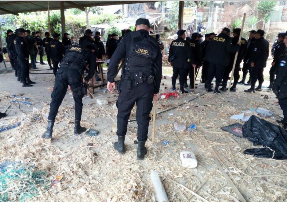Cuatro mil agentes de la PNC participaron en el efectivo policial. (Foto: PNC)