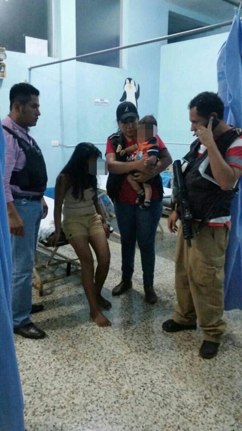 La menor fue interceptada por desconocidos cuando se dirigía a una escuela del lugar. (Foto: PNC)