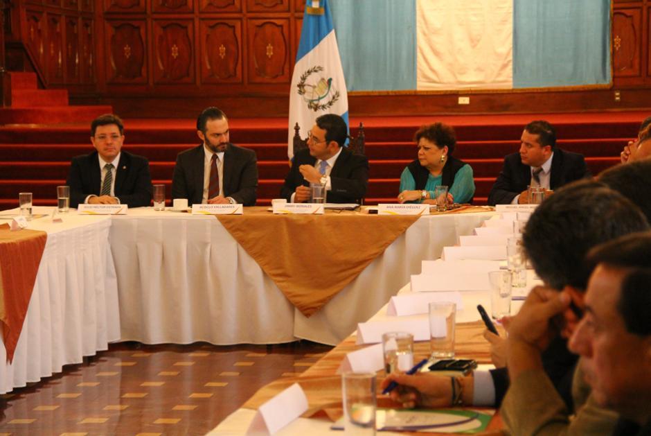 El Cuerpo Consultivo es el foro institucional sobre la implementación del Plan de Alianza. (Foto: Alejandro Ortíz/Soy502)