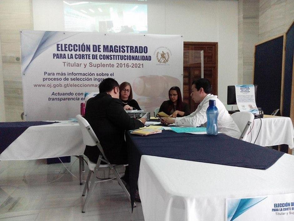 Finaliza la revisión de expedientes de candidatos a Magistrado Titular y Suplente de la Corte de Constitucionalidad. (Foto: Alejandro Balán/ Soy502)