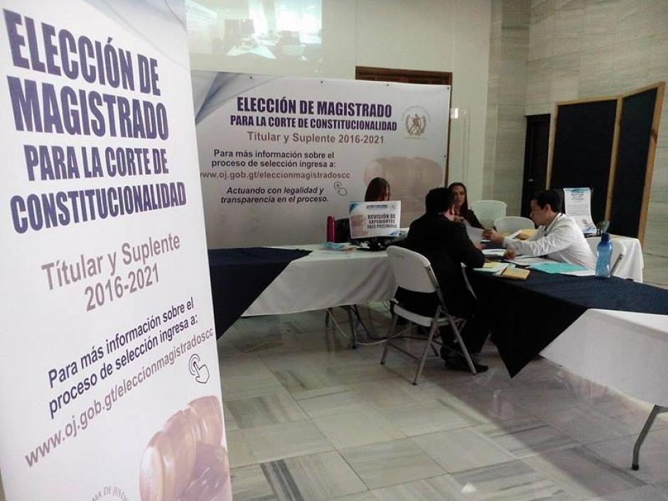 La séptima magistratura de la CC deberá asumir el próximo 14 de abril, para ocupar el cargo durante cinco años. (Foto: Alejandro Balán/ Soy502)