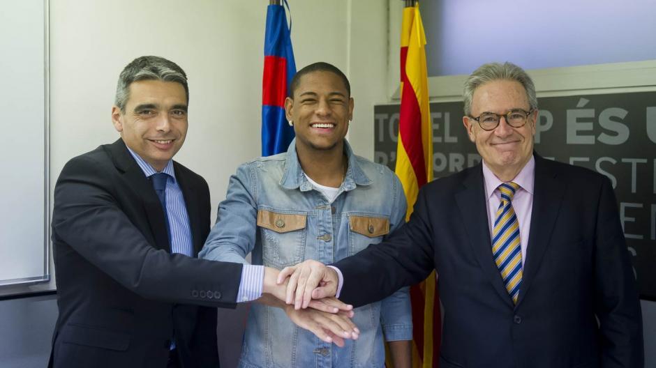 Robert Gonçalves era una promesa para los dirigentes culés. (Foto: Twitter)
