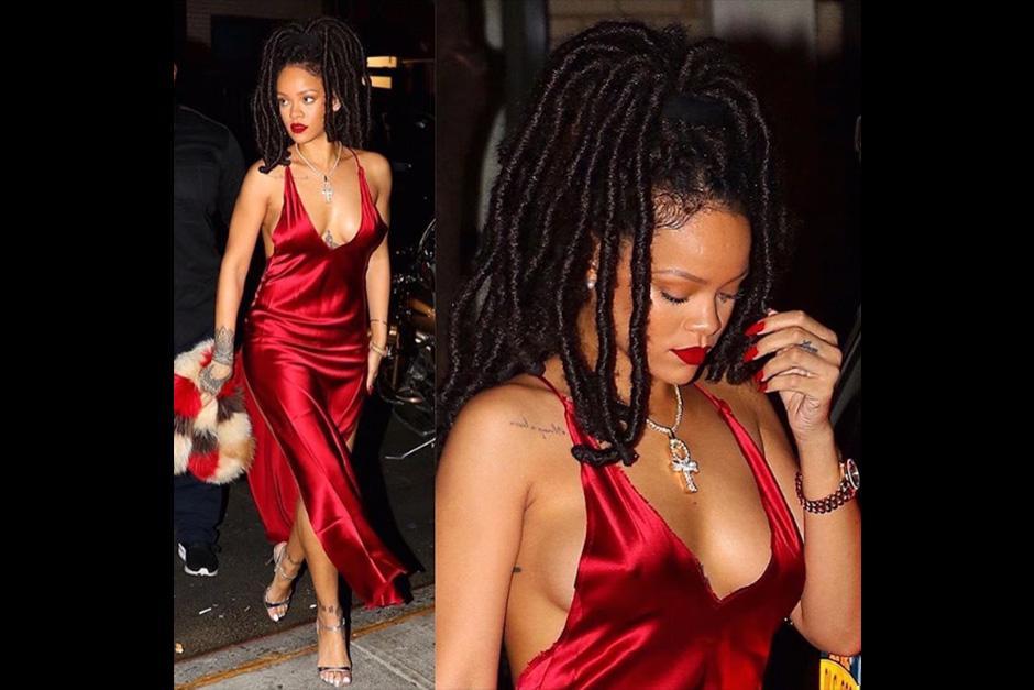 Rihanna cambia su look para su personaje de Ocean's 8. (Foto: Instagram)