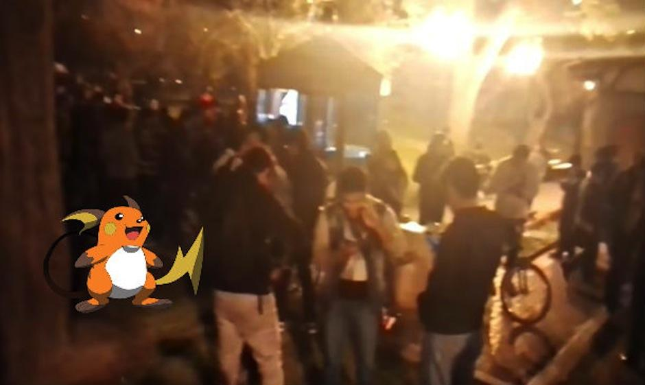 Raichu aparece en un parque de Perú causando furor. (Foto: trome.pe)