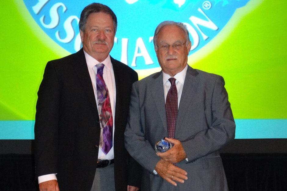 Ricardo Castillo Sinibaldi junto a Jim Basala