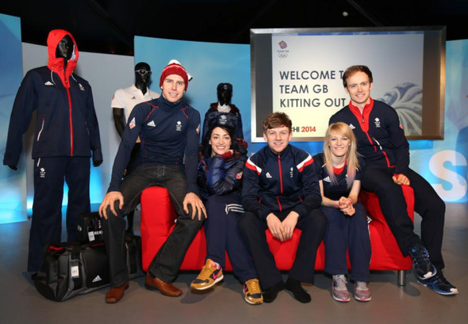 La delegación británica vestirá comodamente con un traje deportivo, de telas impermeables y térmicas. Foto Adidas