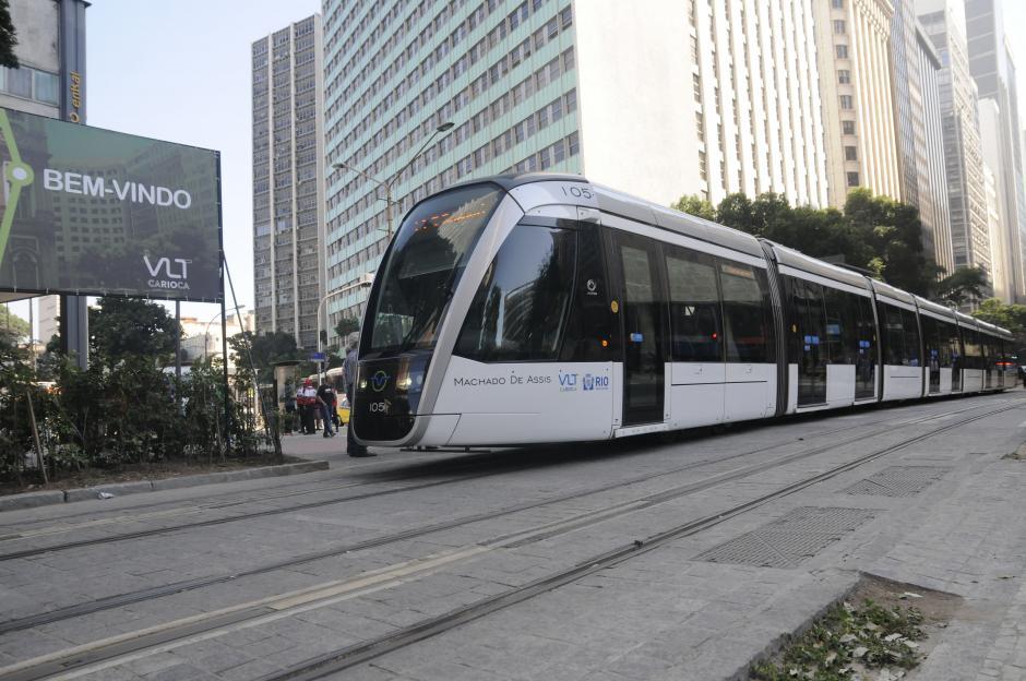 El tren es uno de los medios de transporte más moderno en Río. (Foto: Pedro Pablo Mijangos/Soy502)