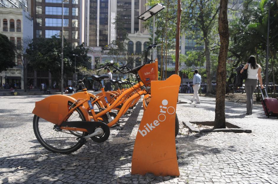 Un medio de transporte bastante efectivo en Río, son las bicicletas. (Foto: Pedro Pablo Mijangos/Soy502)