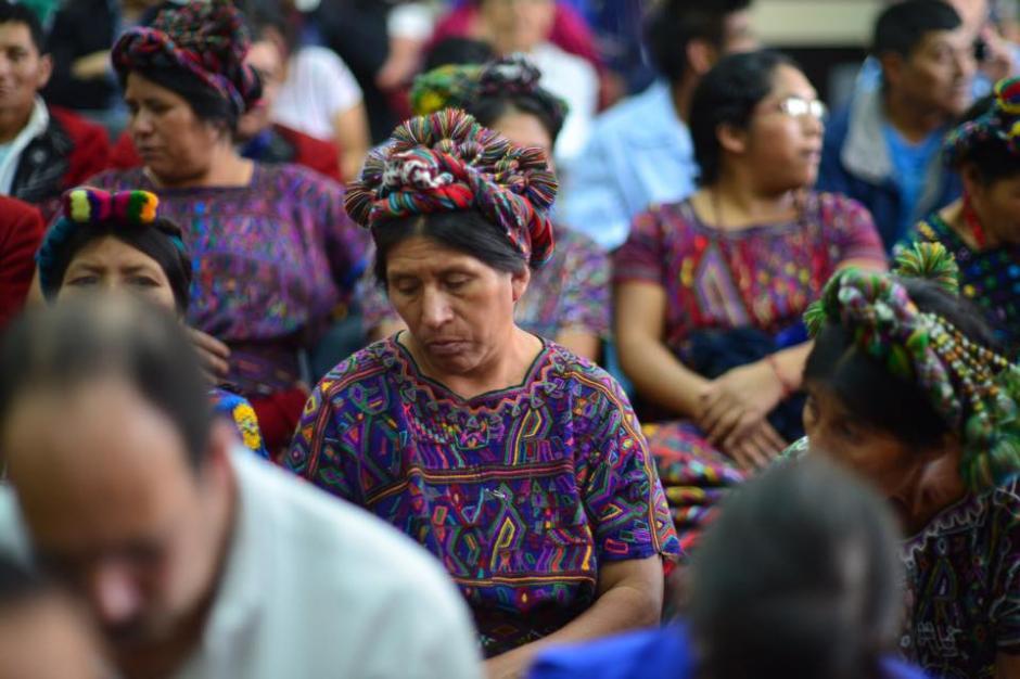 Al momento de escuchar la resolución que indica repetir el juicio. (Foto: Jesús Alfonso/Soy502)