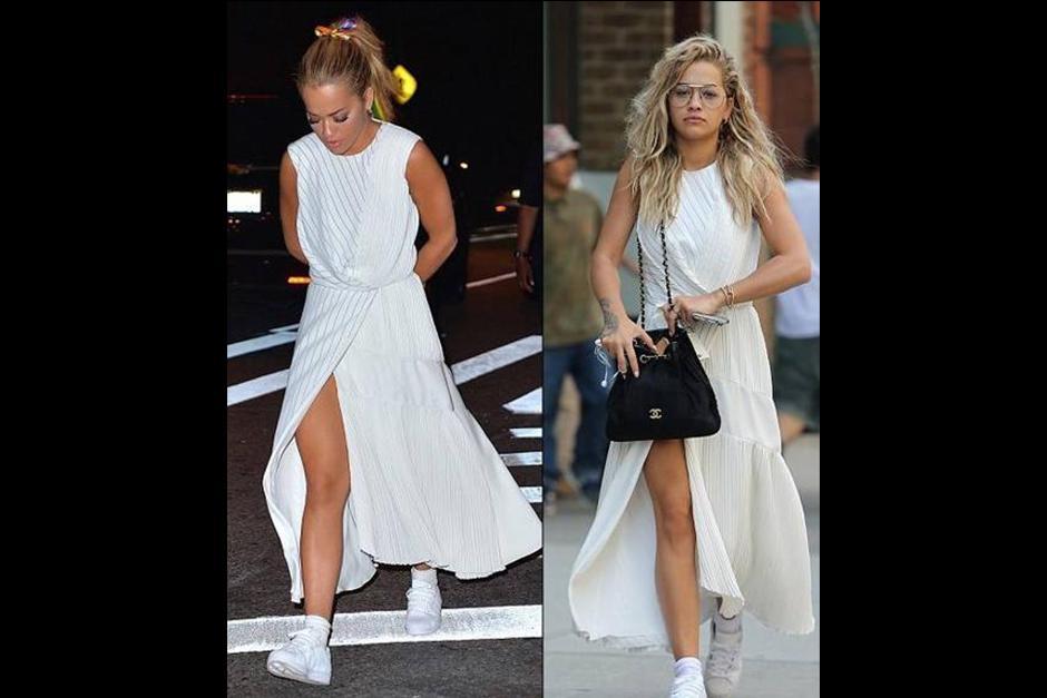 Rita fue vista al salir del hotel donde se aloja Chris Martin. (Foto: Archivo)