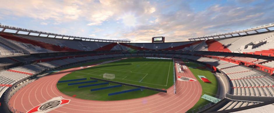 El Monumental (River Plate, Primera División Argentina).(Imagen: Electronics Arts)