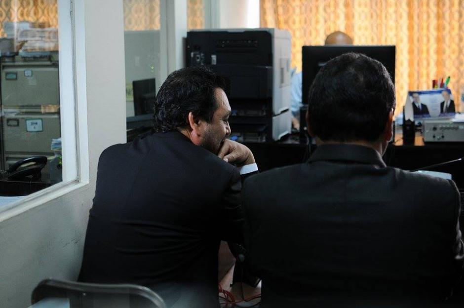 El expresidente del Congreso es acusado de tráfico de influencias y cohecho activo.  (Foto: Alejandro Balán/Soy502)