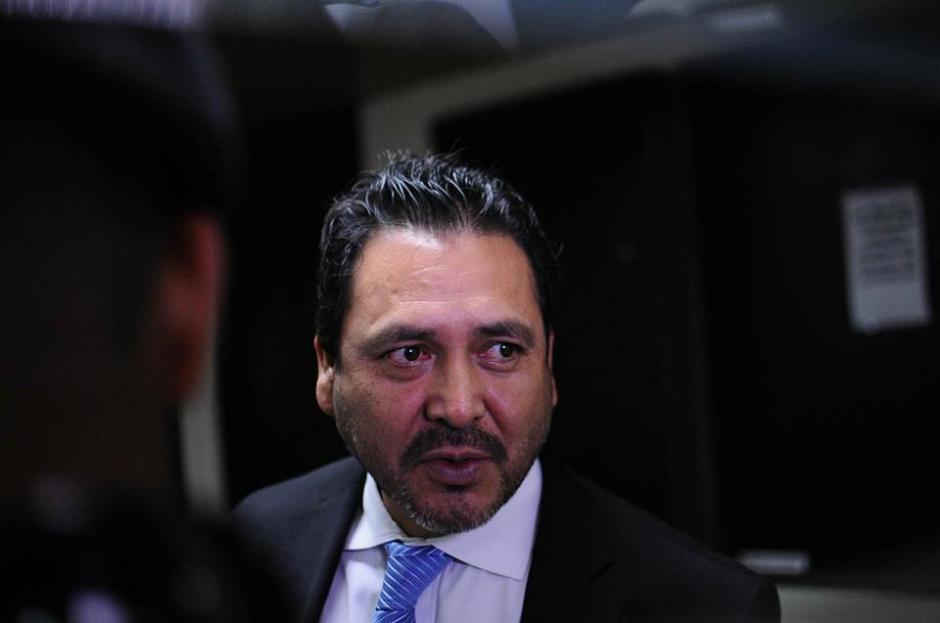 Así el aspecto de Gudy Rivera al salir de Tribunales ligado a proceso como lo dictaminó el juez. (Foto: Alejandro Balán/Soy502)