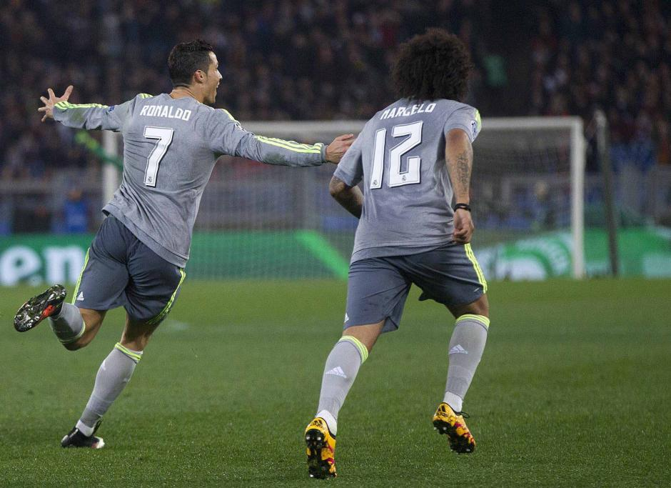 El portugués, Cristiano Ronaldo, anotó su gol número 12 en la actual edición de la Champions.  (Foto: EFE)