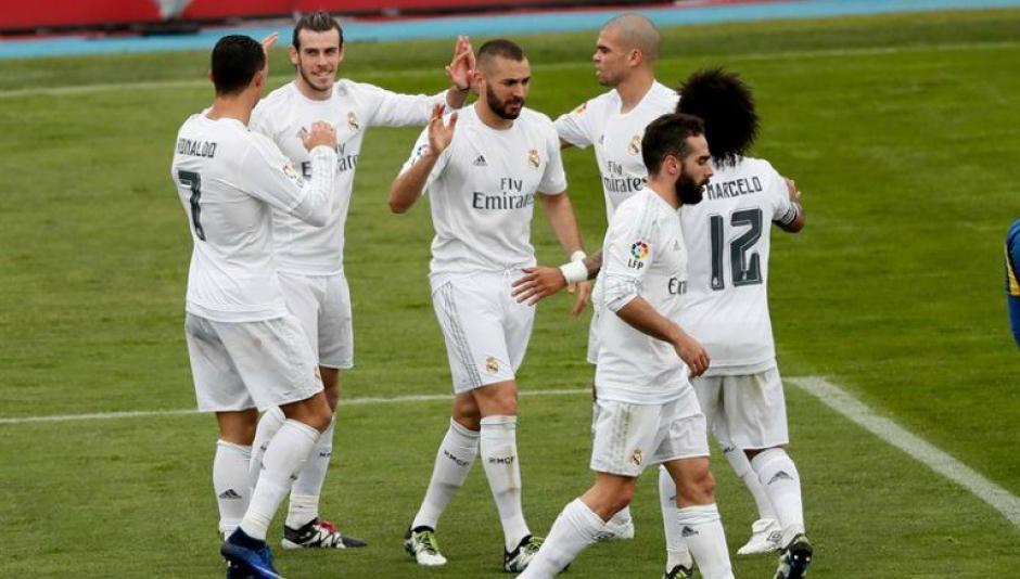 Cristiano Ronaldo anotó en el tiempo de reposición. (Foto: record.com.mx)