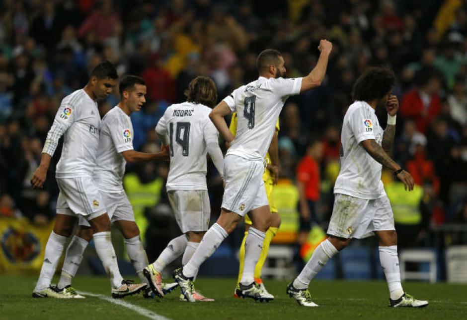 Real Madrid volvió a golear en casa, esta vez al Villarreal. (Foto: 442.perfil.com)