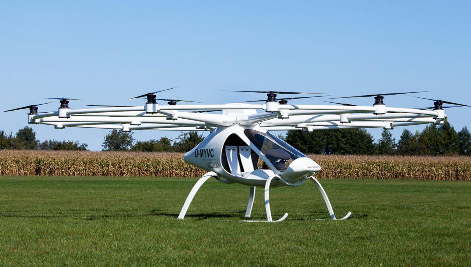 """Este invento cuenta con 18 hélices como de un """"drone"""". (Foto: robbreport.com)"""