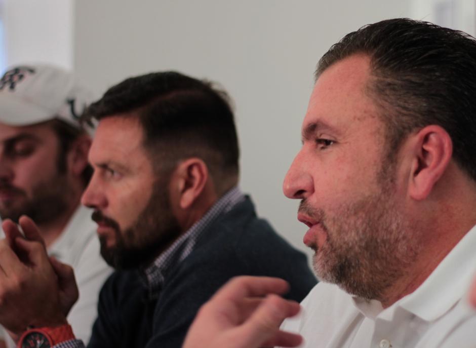 Roberto Arzú aseguró que hoy Comunicaciones no tiene identidad. (Foto: Luis Barrios/Soy502)