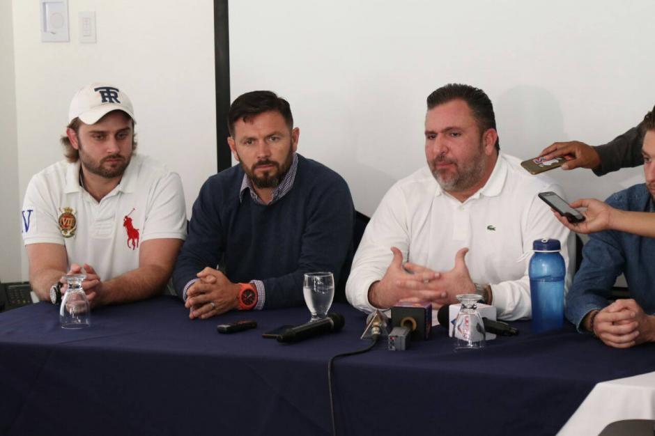 Roberto Arzú dijo que Iván Sopegno ya terminó con Comunicaciones. (Foto: Alejandro Balan/Soy502)