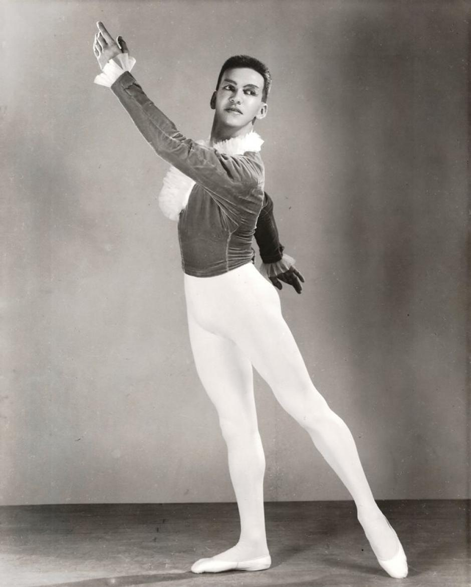 Castañeda fue cofundador del Ballet Guatemala. (Foto: MCD)