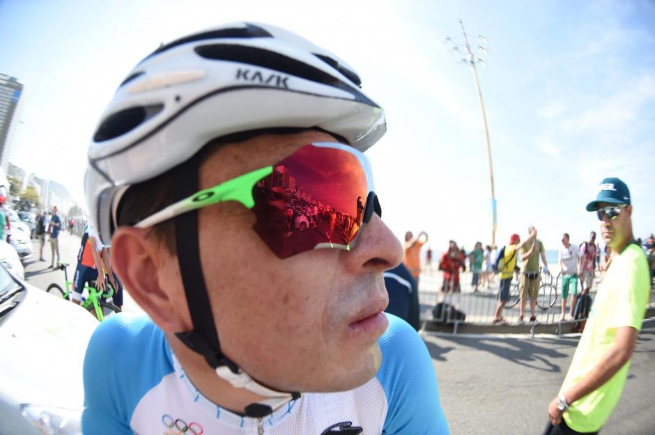 Rodas no pudo completar la prueba, el tiempo fue su peor enemigo. (Foto: Aldo Martínez/Enviado de Nuestro Diario)