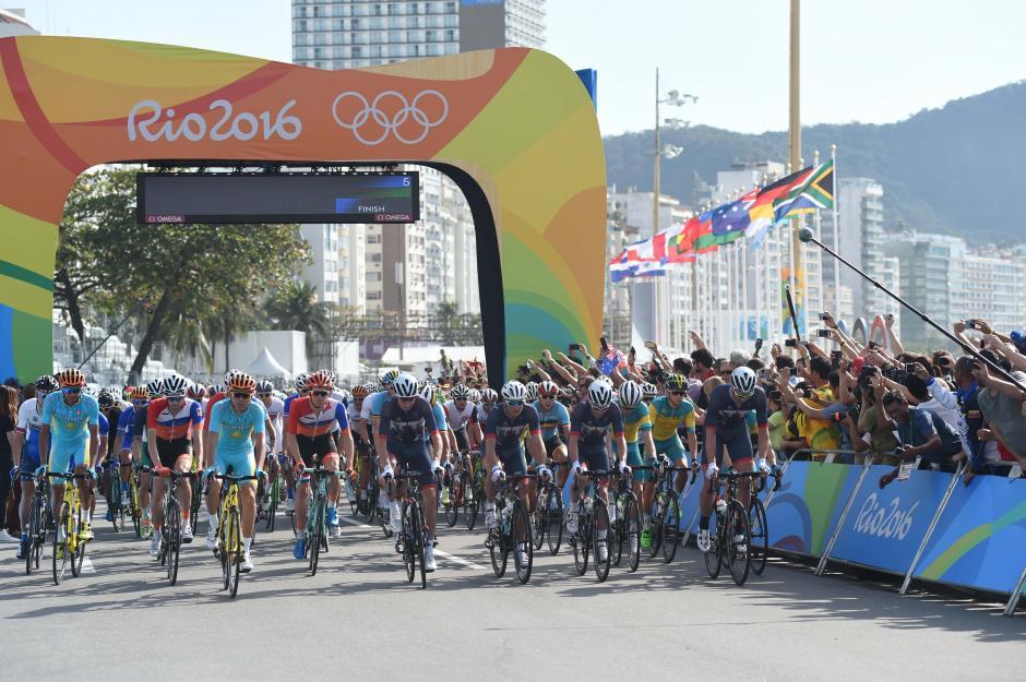 El quetzalteco compitió contra los mejores pedalistas del mundo. (Foto: Aldo Martínez/Enviado de Nuestro Diario)
