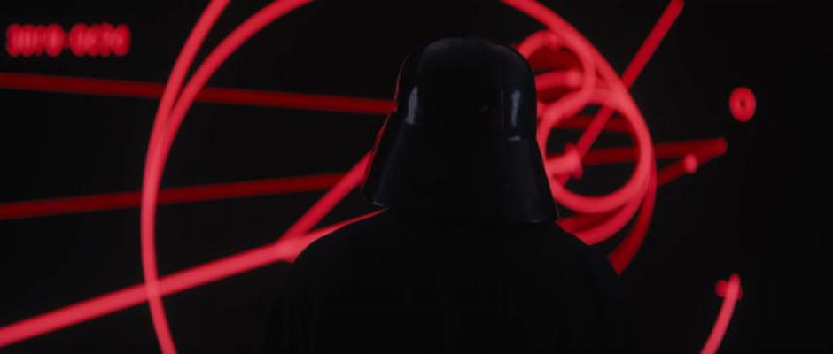 Se puede ver a Darth Vader en el tráiler de Rogue One. (Captura de pantalla: Star Wars/YouTube)