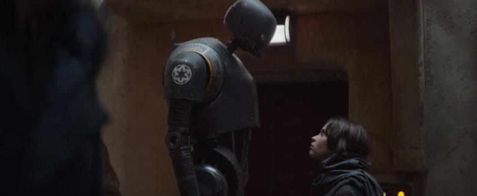 K-250 es un droide imperial.(Captura de pantalla: Star Wars/YouTube)