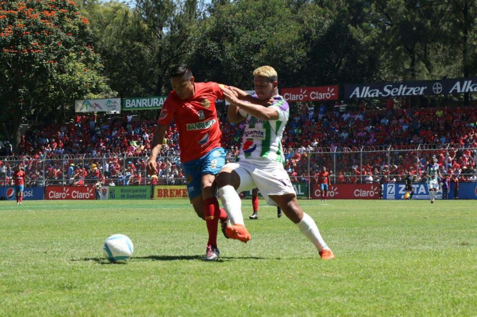 Municipal empató en casa con Antigua y perdió el liderato. (Foto: Alejandro Balán/Soy502)