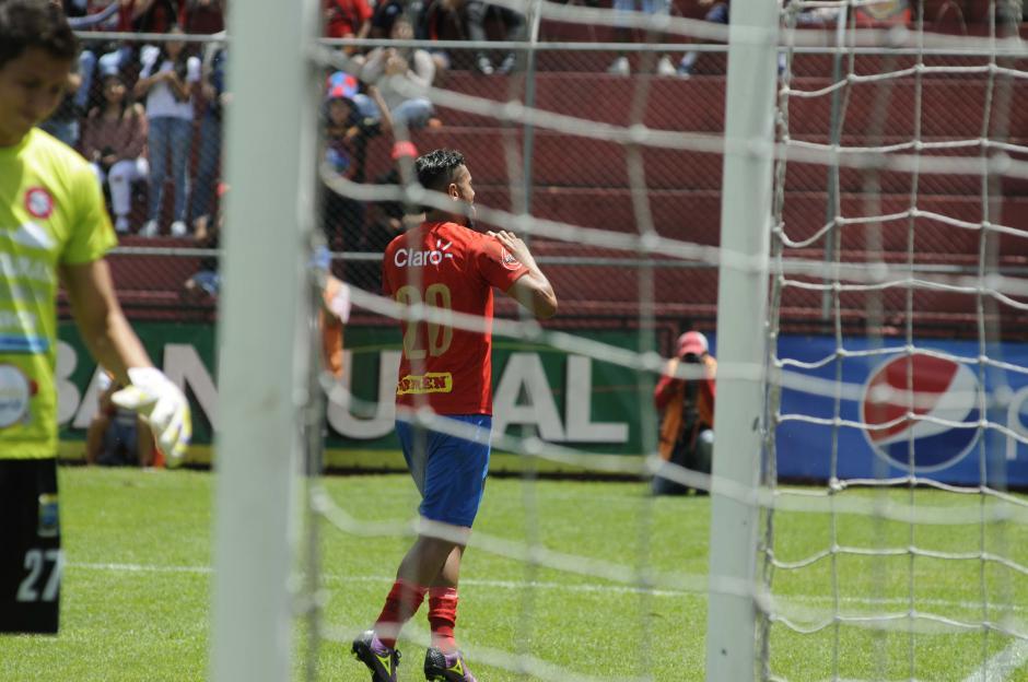 Guerra es el goleador de Municipal en el torneo. (Foto: Pedro Pablo Mijangos/Soy502)
