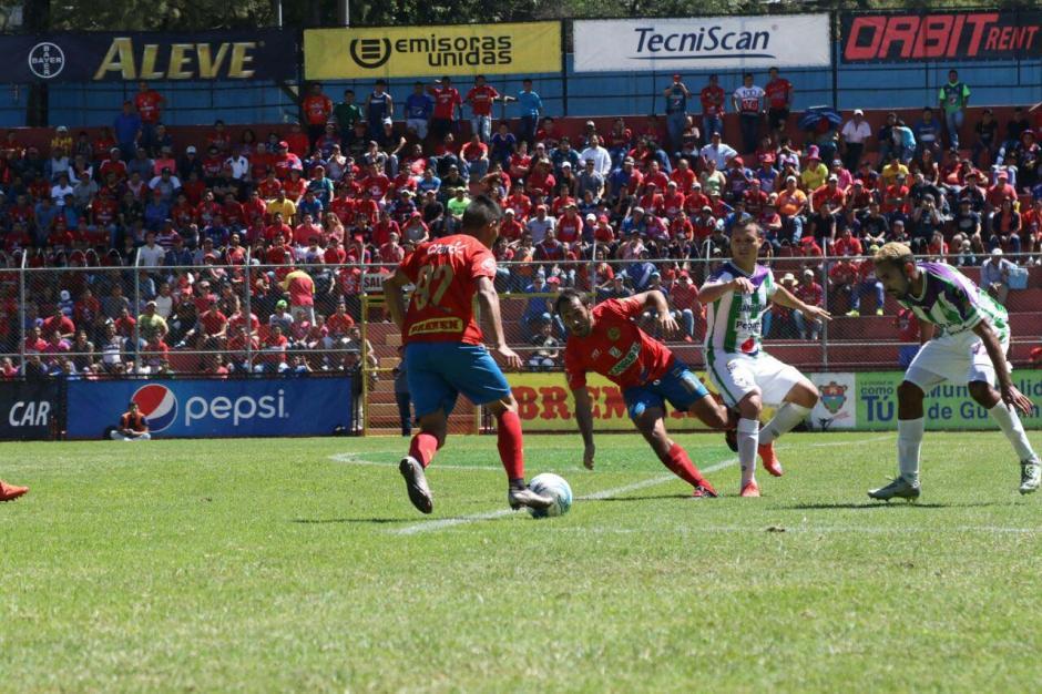 Antigua disfruta una buena racha en el Apertura 2016. (Foto: Alejandro Balán/Soy502)