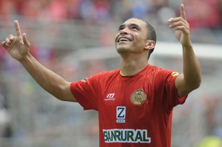 Janderson Pereira convirtió el segundo gol de Municipal. (Foto: Pedro Pablo Mijangos/Soy502)