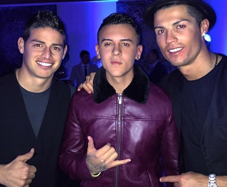 Kevin Roldán cantó en la fiesta de cumpleaños de Cristiano Ronaldo. (Foto: google)