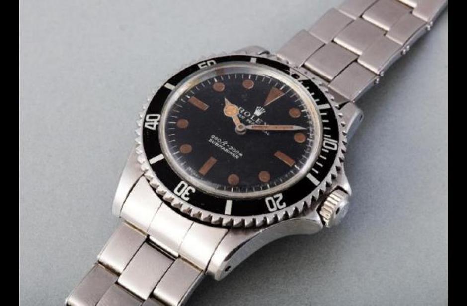 El reloj data de 1972 y es de acero inoxidable. (Foto: AFP)