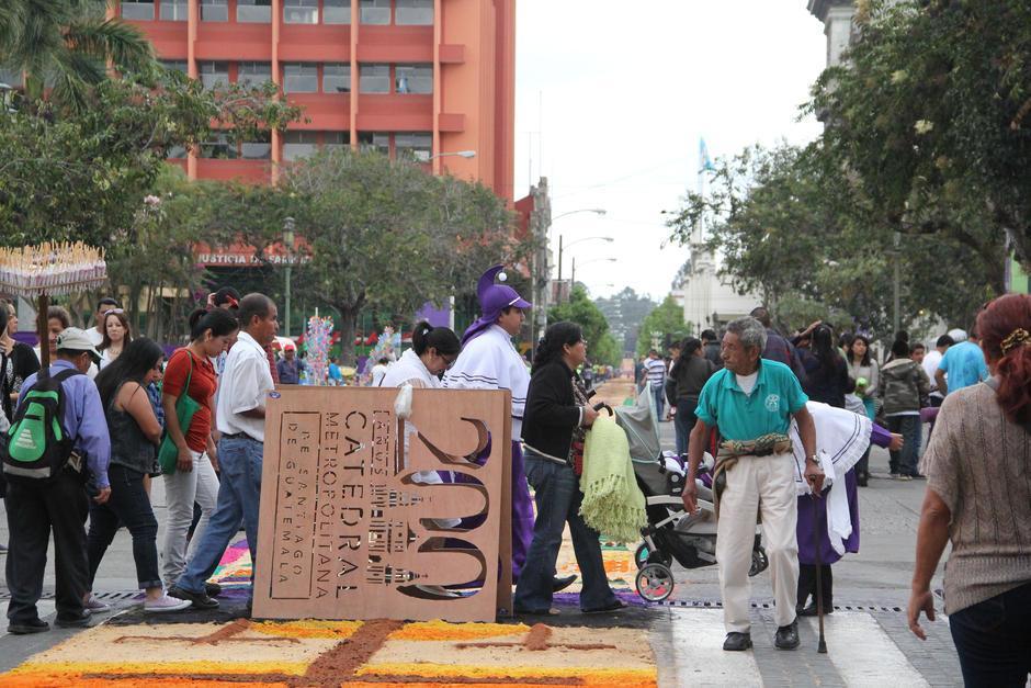 Varios de los moldes que se utilizaron fueron proporcionados por el Arzobispado de Guatemala. (Foto: Archivo/Soy502)