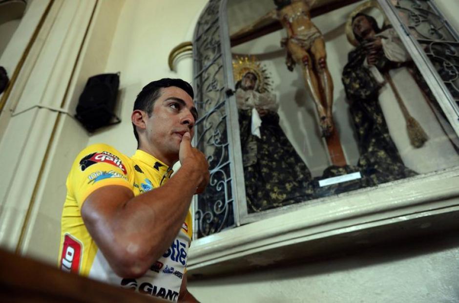 El costarricense Román Villalobos podría coronarse bicampeón de la Vuelta este martes. (Foto: Archivo)