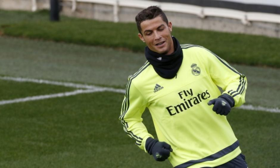 El portugués espera estar de vuelta al campo de juego el próximo miércoles. (Foto: Real Madrid)