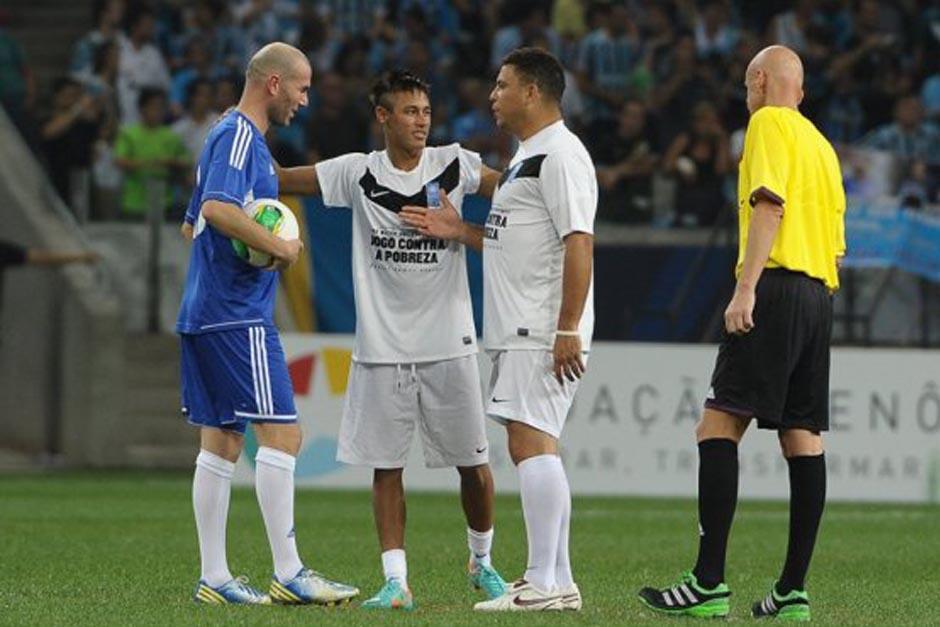El árbitro italiano Pierluigi Colllina será de nuevo el encargado del Partido Anual Contra la Pobreza, liderado por Ronaldo y Zinedine Zidane