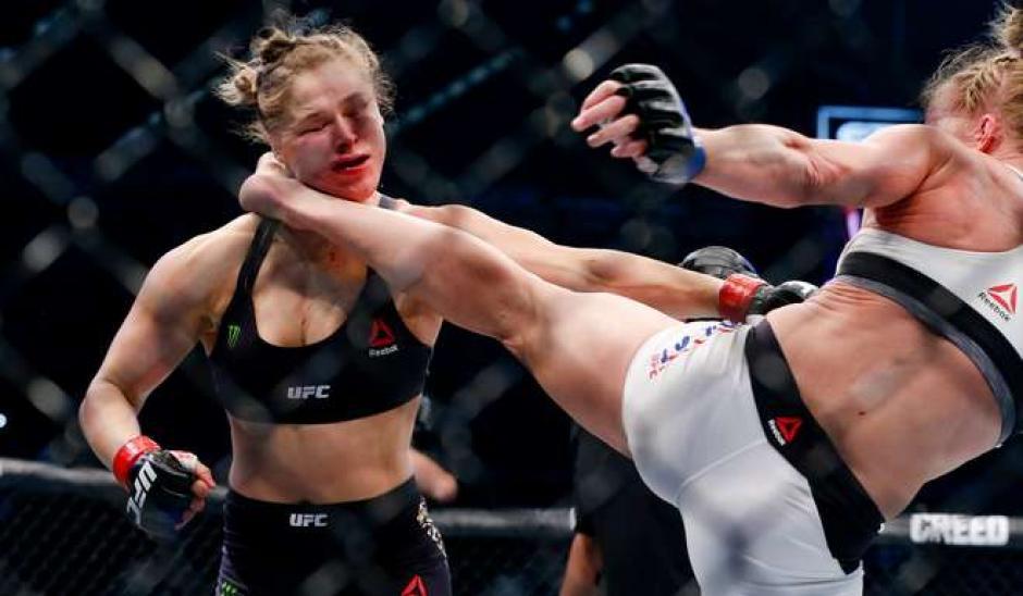 Ronda Rousey es considerada una de las mujeres más guapas de la UFC. (Foto: Archivo)