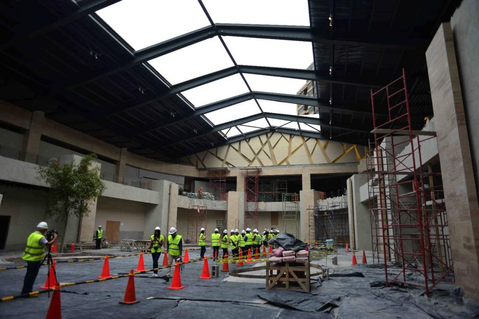 La plaza abierta, Rooftop, pregona el concepto de LifeStyle Center. (Foto: Jesús Alfonso / Soy502)