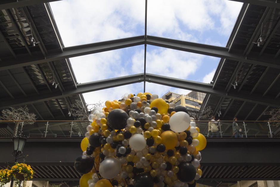 El techo permitirá acondicionar el ambiente según las condiciones climáticas. (Foto: Eddie Lara/Soy502)