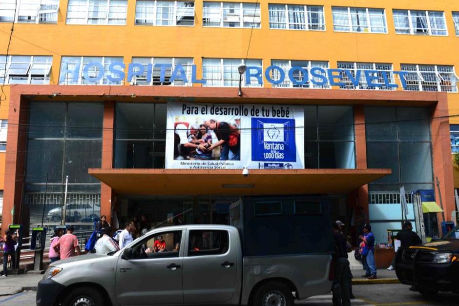 El Hospital Roosevelt es el que lleva a cabo las enfermedades. (Foto: Archivo/Soy502)