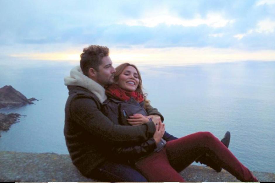 Rosanna y David llevan saliendo hace algunos meses. (Foto: Instagram)