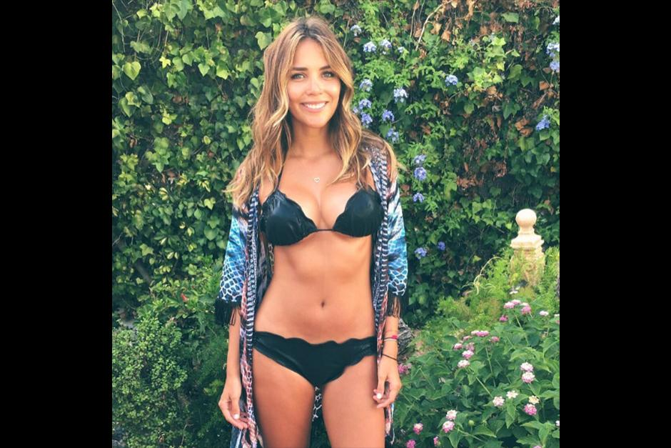 Rosanna tuvo miles de likes en su foto del bikini negro. (Foto: Instagram)