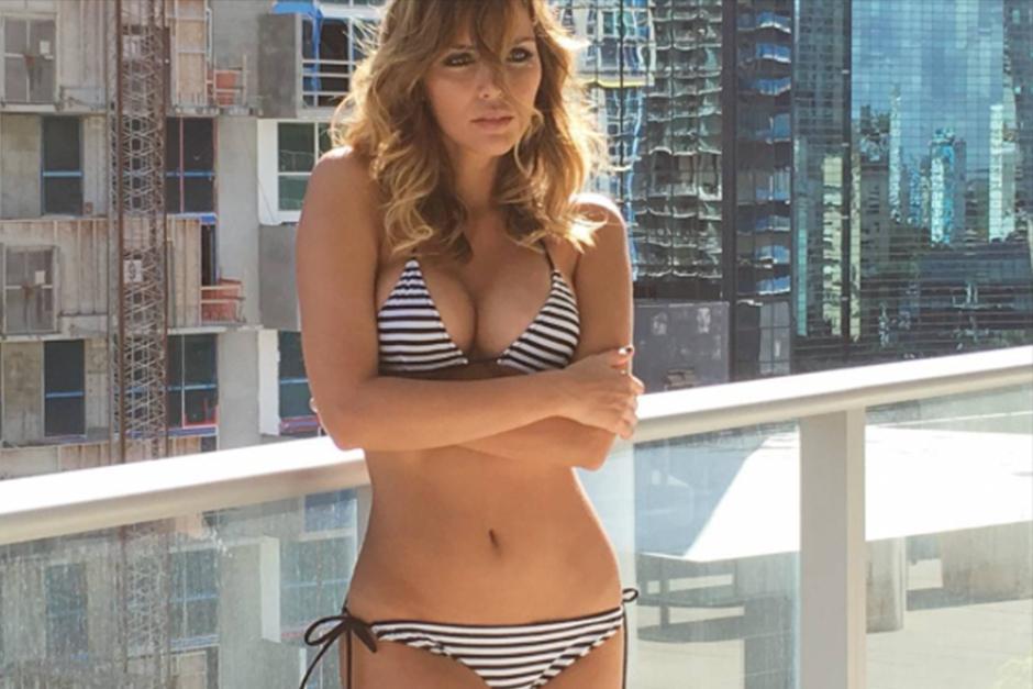 Rosanna presume su envidiable cuerpo en las redes sociales. (Foto: Instagram)