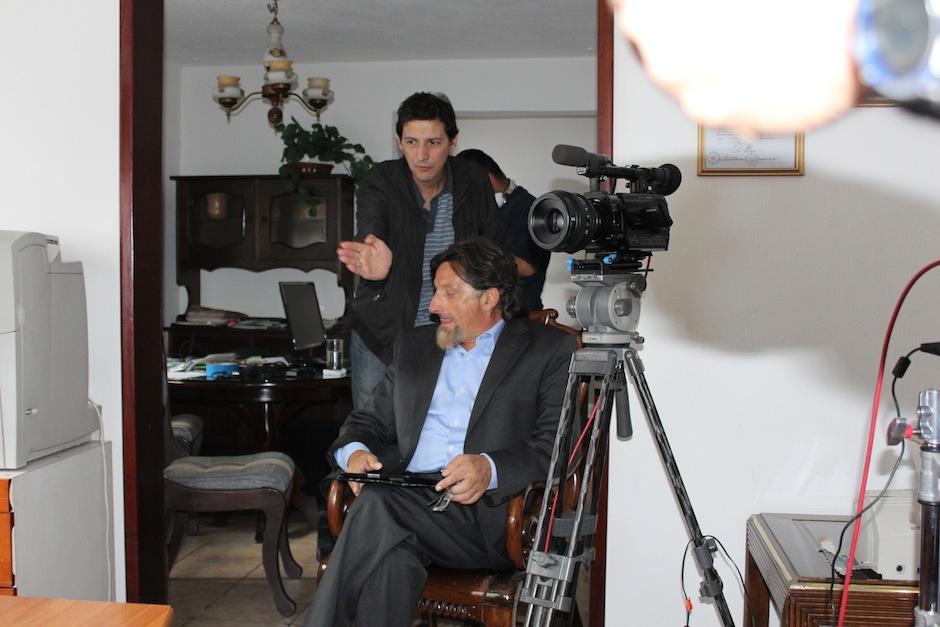 El equipo de producción se compone por realizadores argentinos y algunos guatemaltecos. (Foto: Productora Caras y Caretas)